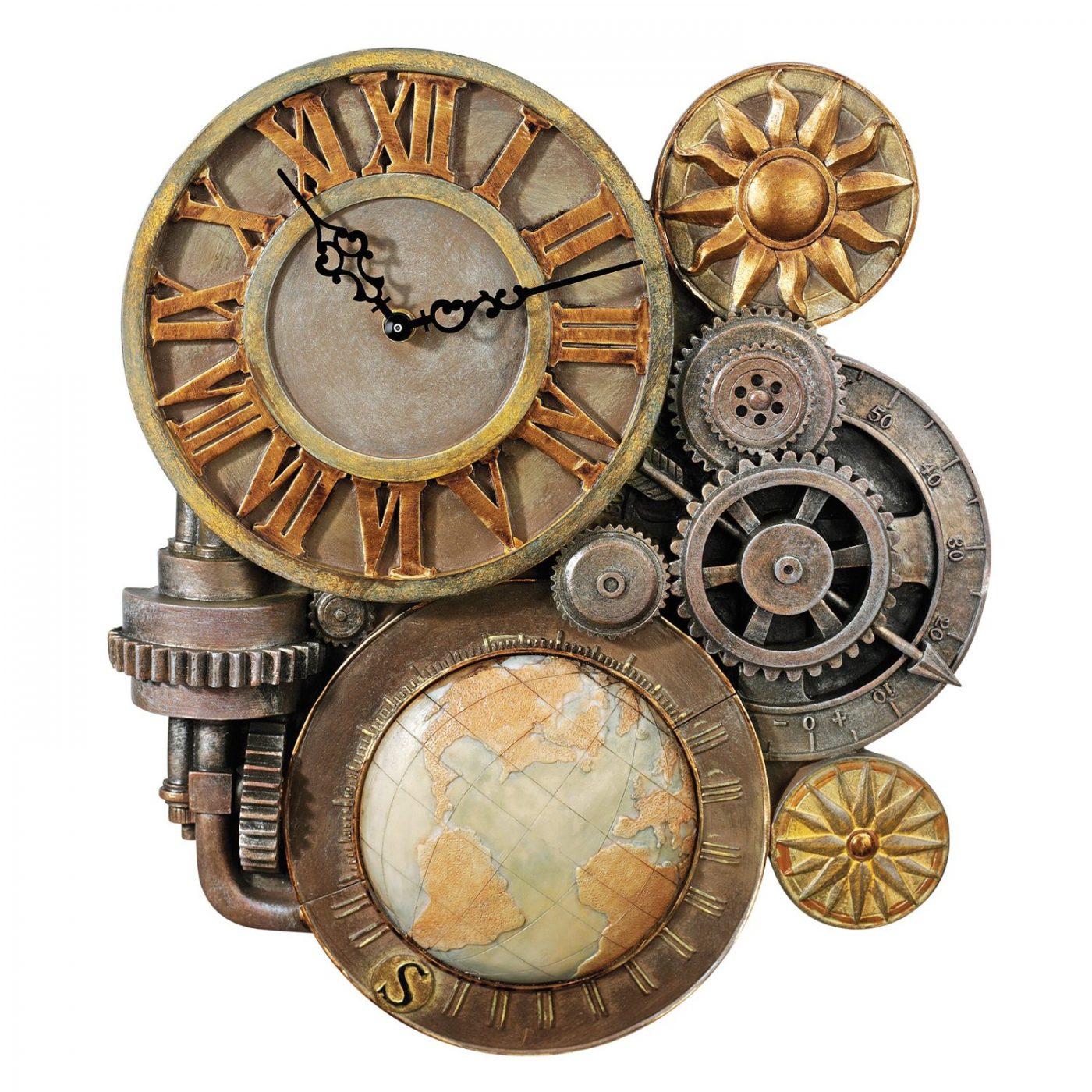 Часовые механизмы для ручных часов стимпанк